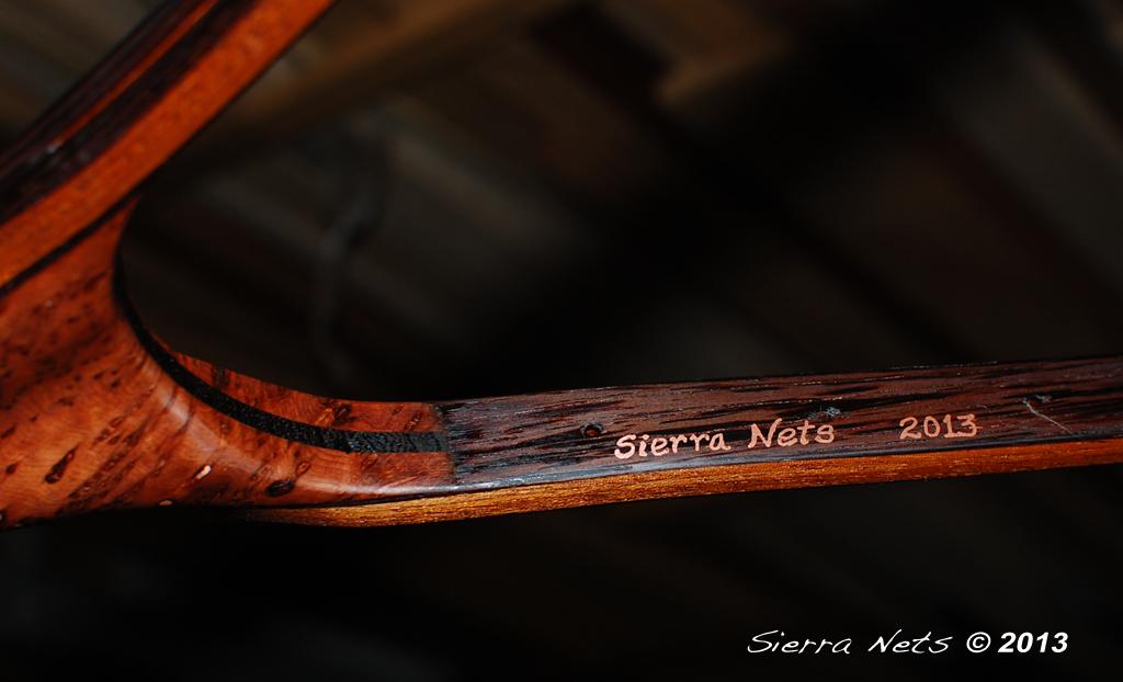 sierra nets - custom wood fly fishing trout landing nets, custom, Fishing Reels