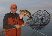 Capt. Bill Matthews of Flytime Guide Service shows us what he does best on the salt.
