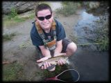 Our Client, Noel Trout (Yes, Trout!) & his 2 sons did very well on Hot Creek in California